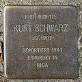 Stolperstein Heinrich-Roller-Str 10 (Prenz) Kurt Schwarz.jpg
