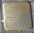 Stolperstein Köln Ebertplatz 1 Fritz Kaufmann.jpg