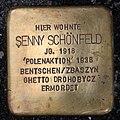 Stolperstein Motzstr 11 (Schön) Senny Schönfeld.jpg