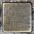 Stolperstein Rügener Str 22 (Gesbr) Paul Junius.jpg