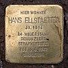 Stolperstein Toni-Lessler-Str 13 (Grune) Hans Ellstaetter.jpg