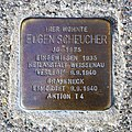 Stolperstein für Eugen Scheucher, Aachener Strasse 38, Bad Cannstatt, Stuttgart.JPG