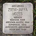 Stolperstein für Szeni-Jaffa Mozes.JPG
