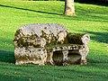 Stone sofa, behind Kingston Lisle church - geograph.org.uk - 667264.jpg
