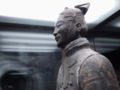 Stone warrior, Terracotta Warriors museum.JPG