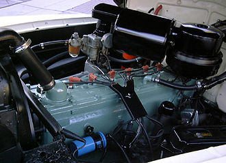 Straight-eight engine - 1940s Oldsmobile straight-8 engine