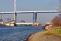 Stralsund, Strelasundquerung, Ziegelgrabenbrücke und Rügenbrücke, 6 (2012-01-26) by Klugschnacker in Wikipedia.jpg