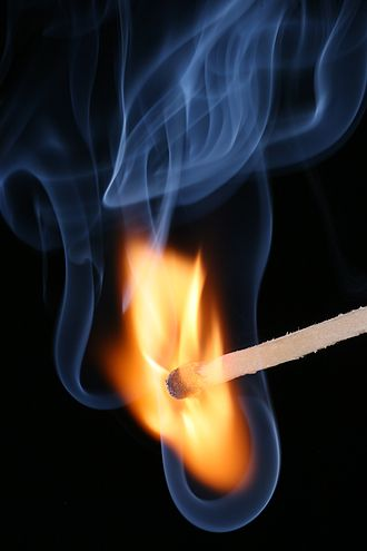 Phenomenon - The combustion of a match is an observable occurrence, or event, and therefore a phenomenon.