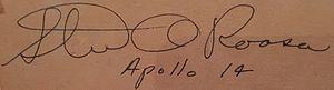 Stuart Roosa - Image: Stuart O Roosa Signature