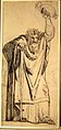 Study for the Prophet Jeremiah (recto); Studies of a Horse Seen from Below and of a Man Seated on a Chair, Probably a Self-Portrait and an Off-Print in Brown Ink of a Nude Female Abdomen and Legs (verso) MET DR331.jpg