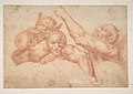 Study of Figures from Michelangelo's Last Judgment, Sistine Chapel MET DP810669.jpg