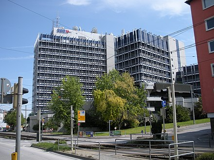 Headquarters in Stuttgart Stuttgart SWR-Gebaude.JPG