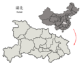 Subdivisions of Hubei (China).png