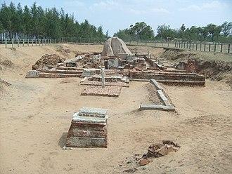 Religion in ancient Tamil country - The Murugan temple at Salavanakuppam near Mahabalipuram