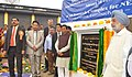 Sudarshan Bhagat laid the foundation stone of the seed processing cum storage unit at the ICAR Research Complex for NEH Region Tripura Centre, in Lembuchera, Tripura.jpg