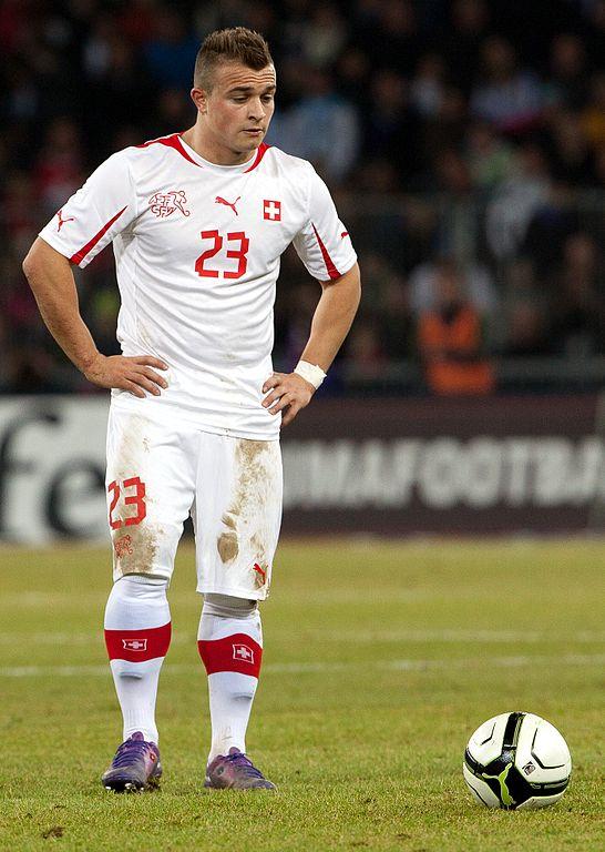 Switzerland's Xherdan Shaqiri  [via Wikipedia]