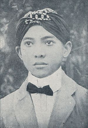 Sukarno - Sukarno as an HBS student in Surabaya, 1916