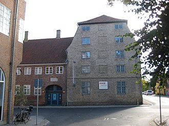 Roskilde Museum - The gable of Liebe House