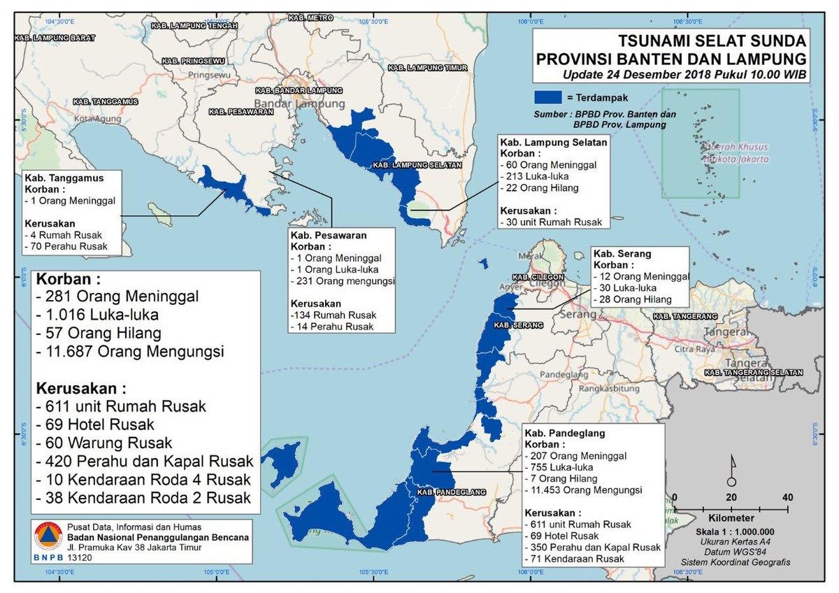 tsunami de 2018 dans le d u00e9troit de la sonde  u2014 wikip u00e9dia