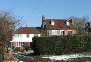 Winifred Smith - The cottages that used to belong to University College, given in memory of Winifred Smith. In Muddle Green, Chiddingly, Sussex.