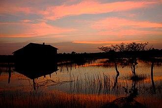 Batticaloa District - Sunset at Kumburumoolai