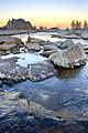 Sunset hiking back to camp 4 (3448585371).jpg