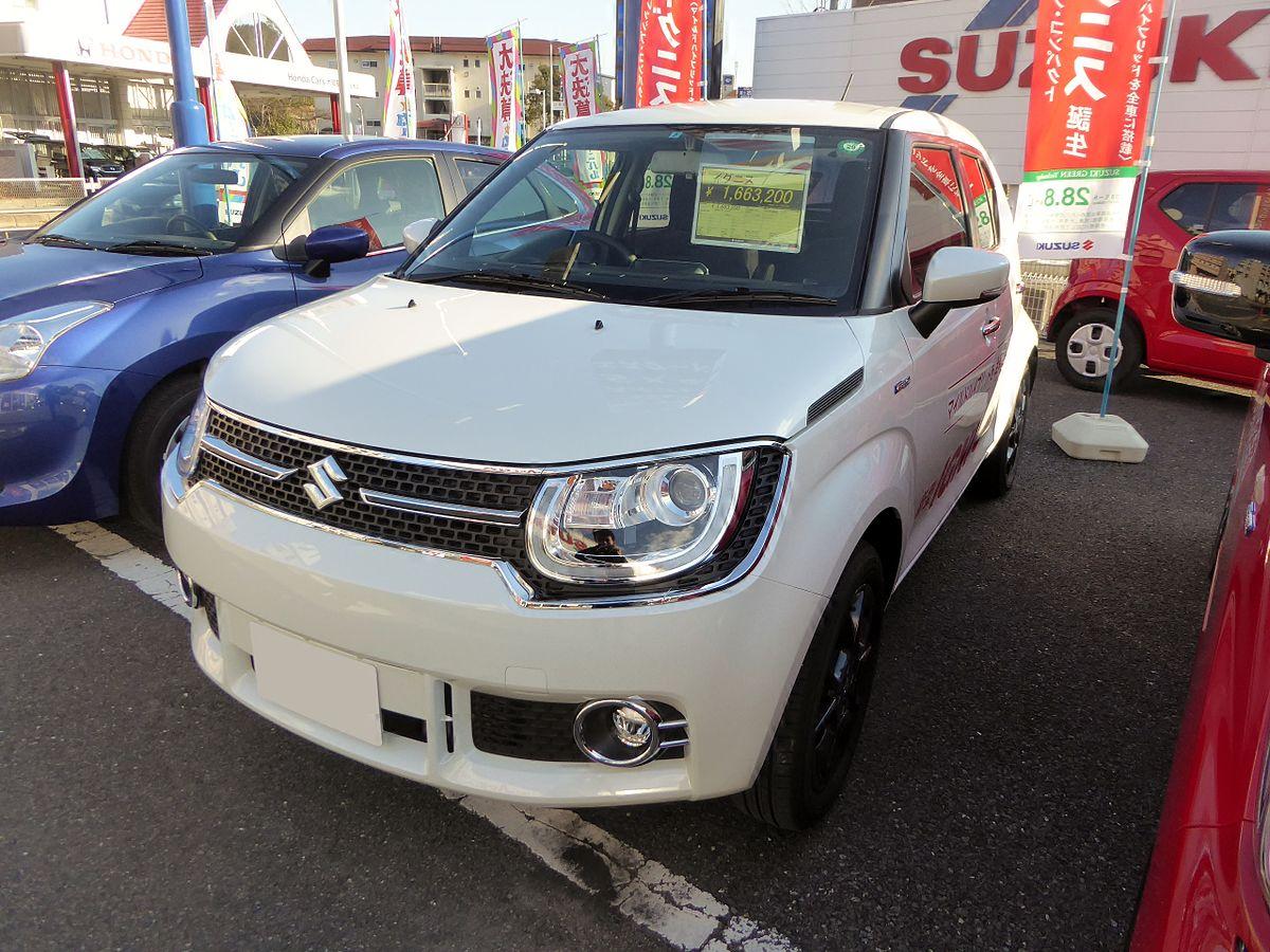 Suzuki IGNIS HYBRID MZ (DAA-FF21S) front.JPG