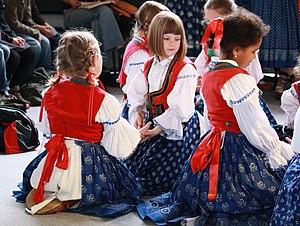 Czech folklore - Wallachian folk costumes