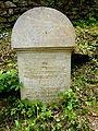 Třešť Jüdischer Friedhof - Grabstein Pichler.jpg