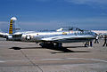 T-33 Shooting Star, Sheppard Air Force Base, Wichita Falls, Texas - April 1978 (5385607845).jpg