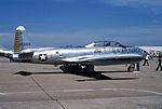 T-33 Shooting Star, Sheppard Air Force Base, Wichita Falls, Texas - April 1978 (5385607845).jpg
