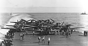TBDs on USS Enterprise (CV-6) during Battle of Midway