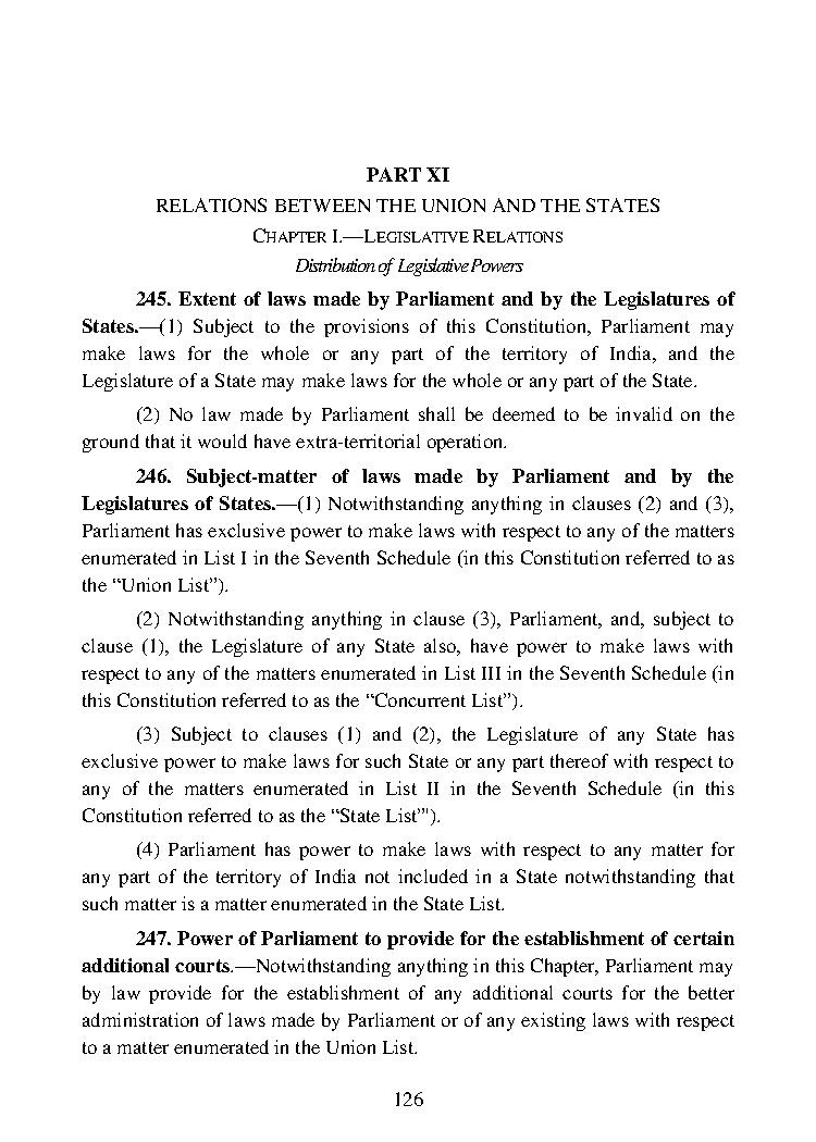 Schedules of Indian Constitution - Clear IAS