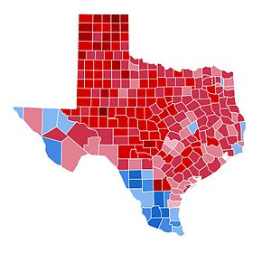 United States presidential election in Texas, 2000 - Image: TX2000