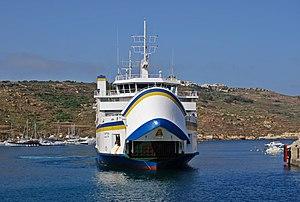Ta' Pinu Gozo Channel Line 2009.jpg