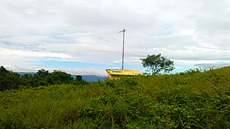 Taal Volcano - A solar-powered remote monitoring station located at Taal Volcano island.