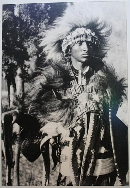 File:Tafari Makonnen dressed in warrior garments.jpg