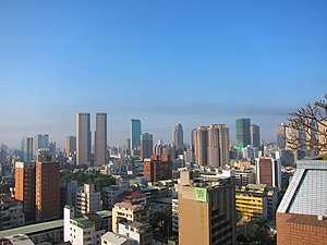 Taichung skyline on a clear day