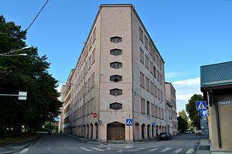 Estonian Academy of Arts - The Academy's future building in Kalamaja.