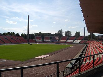 2003 European Athletics Junior Championships - Host stadium in Tampere.