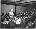 Taos County, New Mexico. The hot lunch, school at Penasco. Children pay about 1 cent daily for thi . . . - NARA - 521840.tif