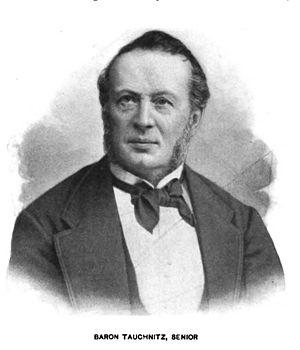 Tauchnitz publishers - Christian Bernhard von Tauchnitz