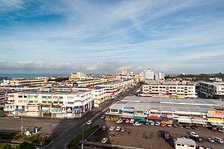 Tawau District Capital in Sabah, Malaysia