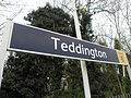Teddington station signage 2012.JPG