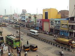 Teni Town Tamilnadu, India.JPG