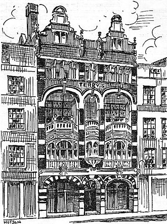 Terry's Theatre - Terry's Theatre in 1887