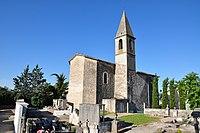 Thèze, église et cimetière.jpg