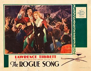 The Rogue Song - Lobby card