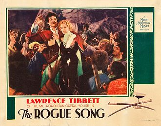 Catherine Dale Owen - Lobby card for The Rogue Song (1930)