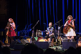 The Accidentals - The Accidentals performing at the Ann Arbor Folk Festival in 2016.